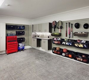 When staging your home, it's important to clean your garage.
