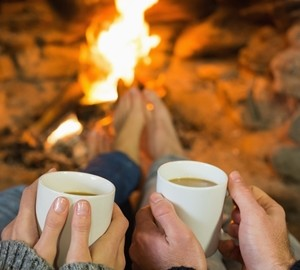 While you may not have a fireplace to set the ambiance, turning the heat up a little can make a difference when trying to sell your home in the winter.